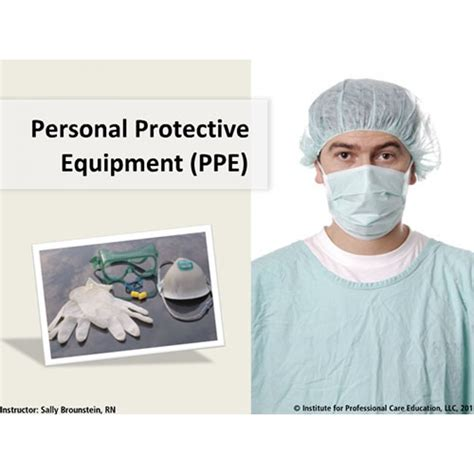 personal protective equipment oncourse learning healthcare