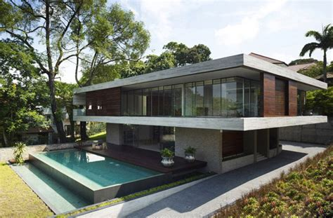 Deck Architecture by Platform Deck House By Singapore Architecture Firm