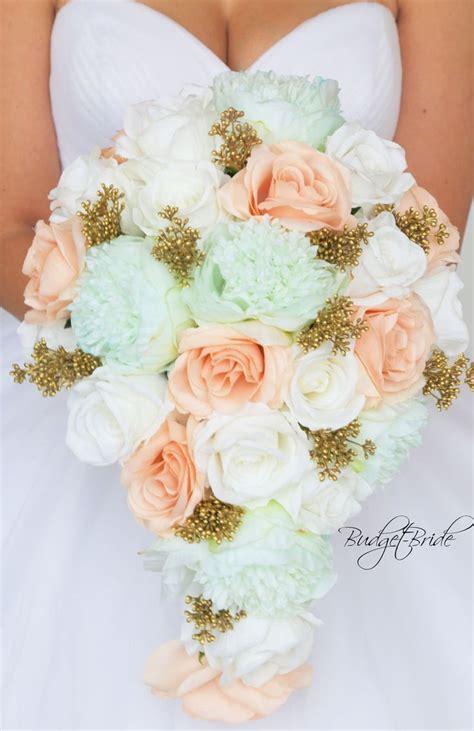 Wedding Bouquet Mint Green by 25 Best Ideas About Mint Green Flowers On