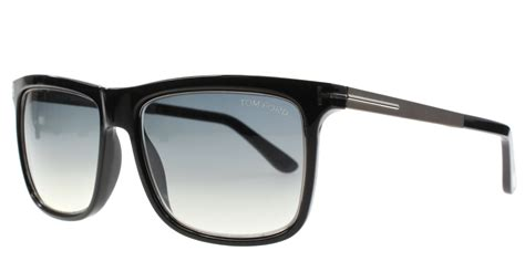 tom ford glasses mens new tom ford sunglasses rectangle tf 392 black 02w