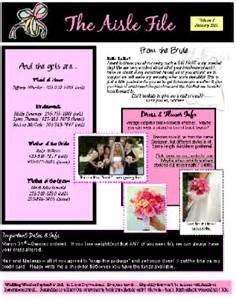 bridesmaid newsletter template questionnaire for cake ideas and designs