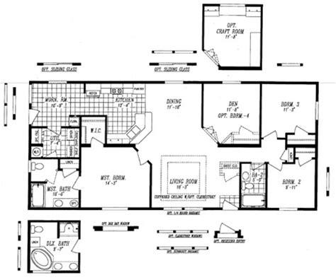 4 bedroom manufactured homes 4 bedroom manufactured homes home design