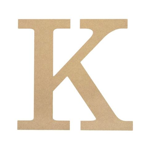 Wall Decor Signs For Home 10 Quot Decorative Wood Letter K Ab2035 Craftoutlet Com