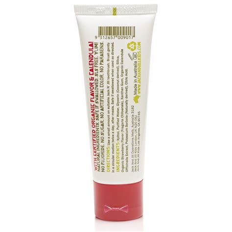 N Strawberry Toothpaste n calendula toothpaste strawberry flavour