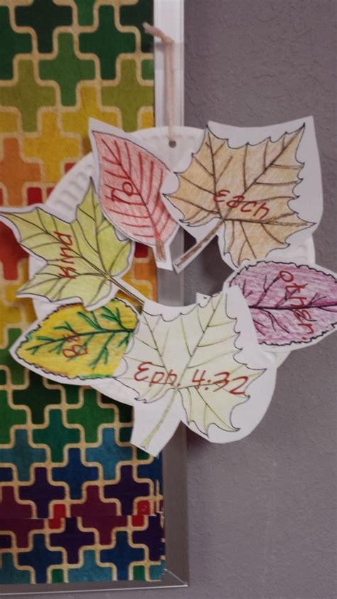 crafts for sunday school class be kind fall wreath craft for crafts microsoft