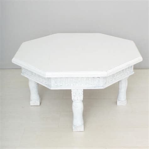 Vintage White Coffee Table For Sale At Pamono White Coffee Table For Sale
