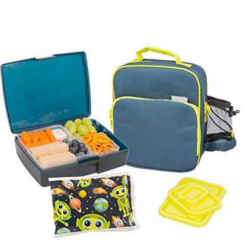 bentology lunch bag and box set includes insulated bag