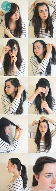 50s hair step by step 1000 images about 50s hairstyles diy on pinterest 50s
