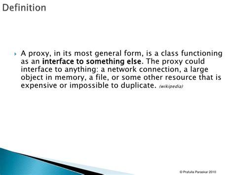 pattern of three definition design patterns 02 proxy and bridge pattern
