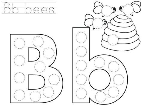 downloadable letter b worksheets for preschool