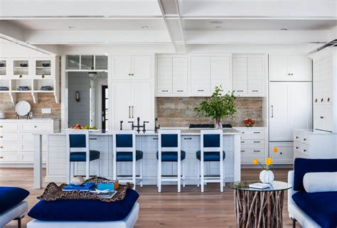 blue and white beach house interiors longport beach cottage with coastal interiors bell custom homes