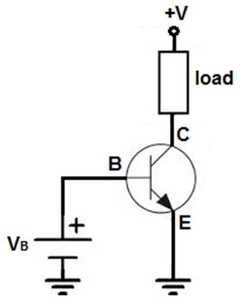 npn transistor load on emitter how an npn transistor works