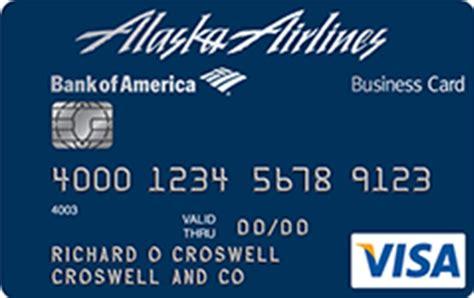 Alaska Airlines Business Card