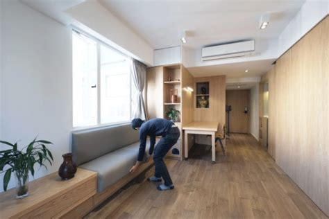Make The Most Of Your Space In Hong Kong S Small Flats And Businesses Hk Magazine One 1 Flat space saving furniture transforms to make the most of a hong kong micro apartment inhabitat