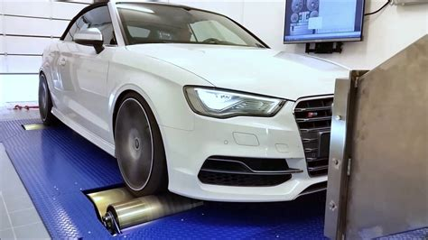 Audi S3 Chiptuning by Chiptuning Audi S3 Getestet Am Leistungspr 252 Fstand Youtube