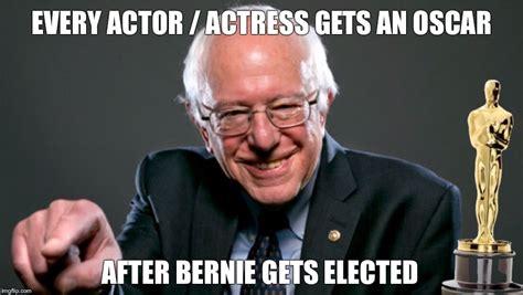 Oscars Memes - bernie sanders oscars imgflip