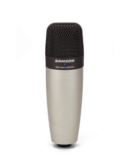 Microphone Condenser Pw 646 11 on samson c01 large diaphragm condenser mic on snapdeal paisawapas