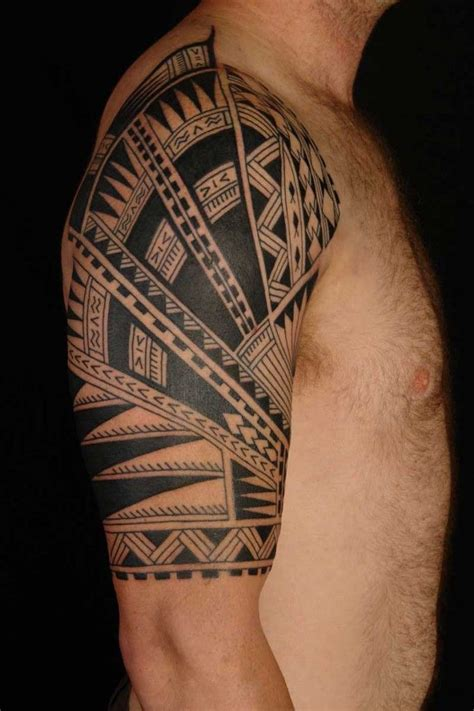 tribal pattern sleeves half sleeve tattoo ideas for men obligatory pinterest