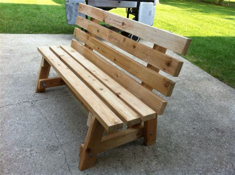 Simple Garden Bench Seat Made By Bill