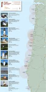 lighthouses map list of lighthouses in oregon wow