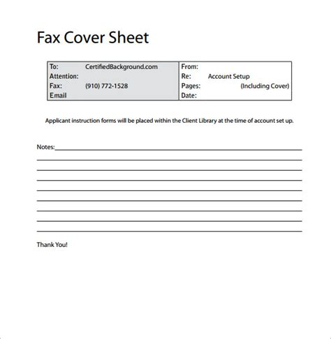 professional cover sheet 28 images 15 fax cover sheet