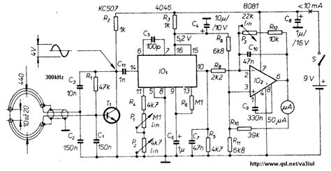 metal detector circuit diagram metal detector circuit schematic basic circuitry of