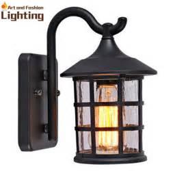rustic outdoor lighting lantern antique rustic iron waterproof outdoor wall l vintage