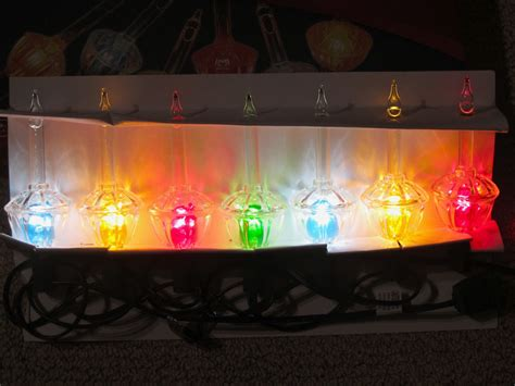 new 7 bubble light set vintage noma style c7 christmas