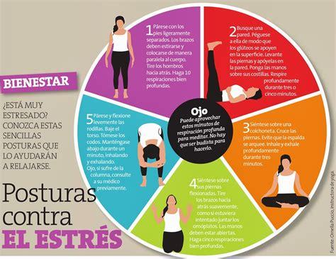 imagenes de yoga para el estres posturas de yoga para evitar el estr 233 s conoce m 225 s en