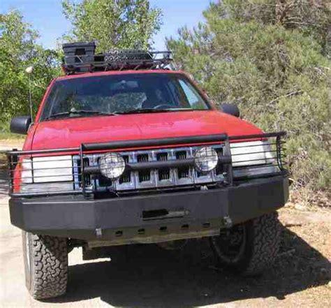 96 Jeep Grand Bumper C4x4 Zj Grand Trailblazer Winch Bumper Zj Tbfwb