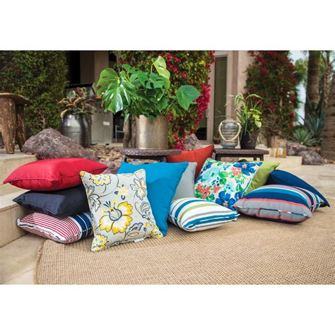 Coral Coast Classic 20 X 20 In Outdoor Toss Pillows Set Patio Pillows And Cushions