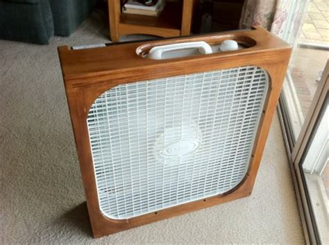 Simple Fan Fillter Box W Allergy Filter By Woodshaver