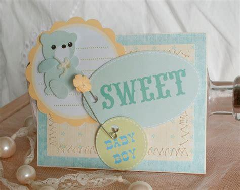 Handmade Baby Shower Cards - baby shower greeting cards handmade baby boy