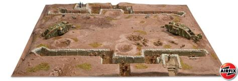Modern Paints by Airfix 1 76th Scale Wwi Western Front Diorama Playset