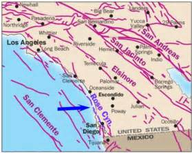 map of san andreas fault in southern california beatles russel photos