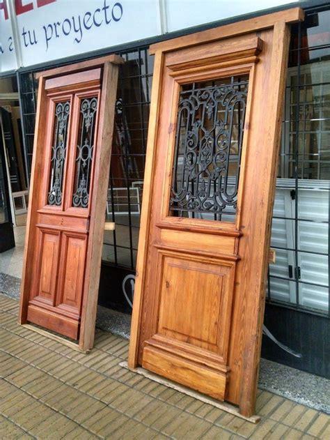 puerta pinotea colonial de madera macizo estilo antiguo