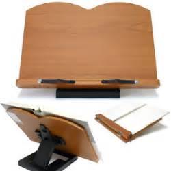 Desk L For Reading Book Stand Portable Wooden Reading Desk Holder D