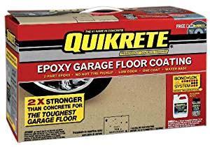quikrete epoxy garage floor coating kit reviews decor23 redbancosdealimentos amazon com quikrete 1 gallon kit epoxy garage floor