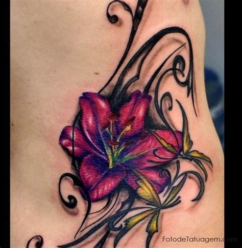 familiar tattoo flores pictures to pin on pinterest