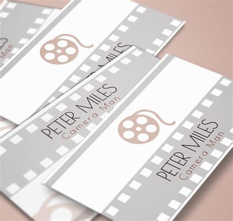 filmmaker business cards templates filmmaker business cards images business card template