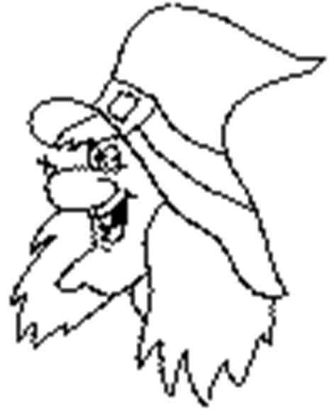 witch head coloring page halloween coloring pages print halloween pictures to