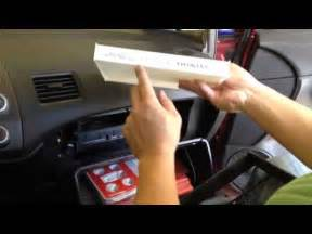 how to change honda civic cabin filter 8th 2006 2011