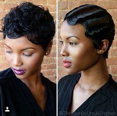 black women bob hairstyles with finger waves pinterest rebelwithstyle hair pinterest short