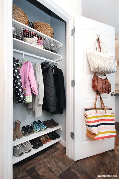iheart organizing reader space for this coat closet