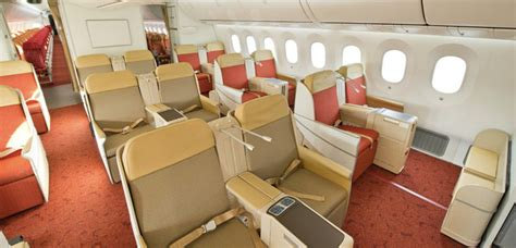 air india business class seat numbers dreamliner airline world