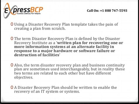 What Makes A Good Disaster Recovery Plan Template Information Systems Disaster Recovery Plan Template