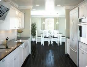 white galley kitchen ideas white galley kitchen designs with black flooring tile