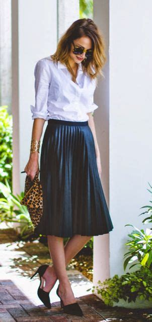 Shirt Pleated Skirt the pleated skirt is a changer this