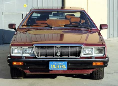 how to fix cars 1984 maserati quattroporte free book repair manuals find used california original 1984 maserati quattroporte 100 rust free california car in los