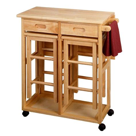 Kitchen Island Cart With Breakfast Bar by 3 Deals For Small Kitchen Table With Reviews Home